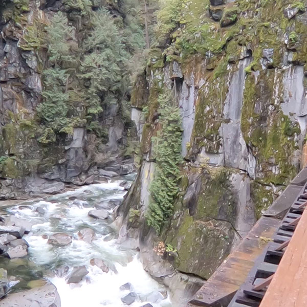 Run the Kettle Valley Trail to the Othello Tunnels in 2 minutes!  Explore scenic areas near Vancouver, BC