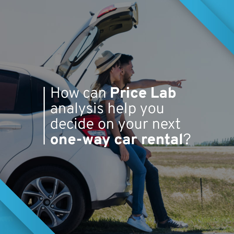 Whether you're renting a car for a road trip, looking for interstate rentals, or simply just trying to find cheap one-way car rentals; The latest analysis from our one-way car rental price lab has the info you need to help you with your decision.
